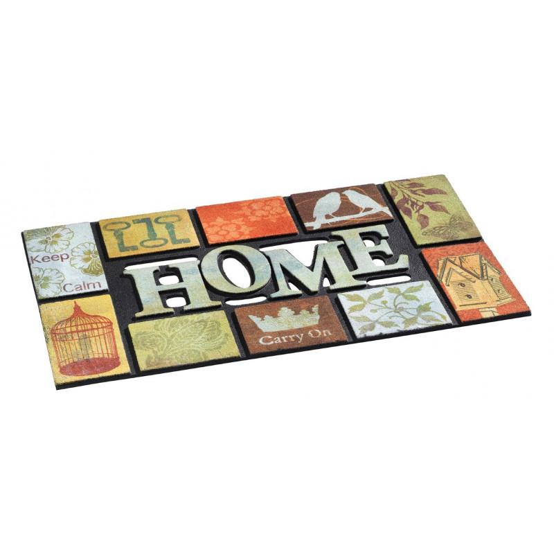 paillasson welcome home vintage. Black Bedroom Furniture Sets. Home Design Ideas
