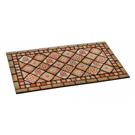 Paillasson d entrée indian tiles