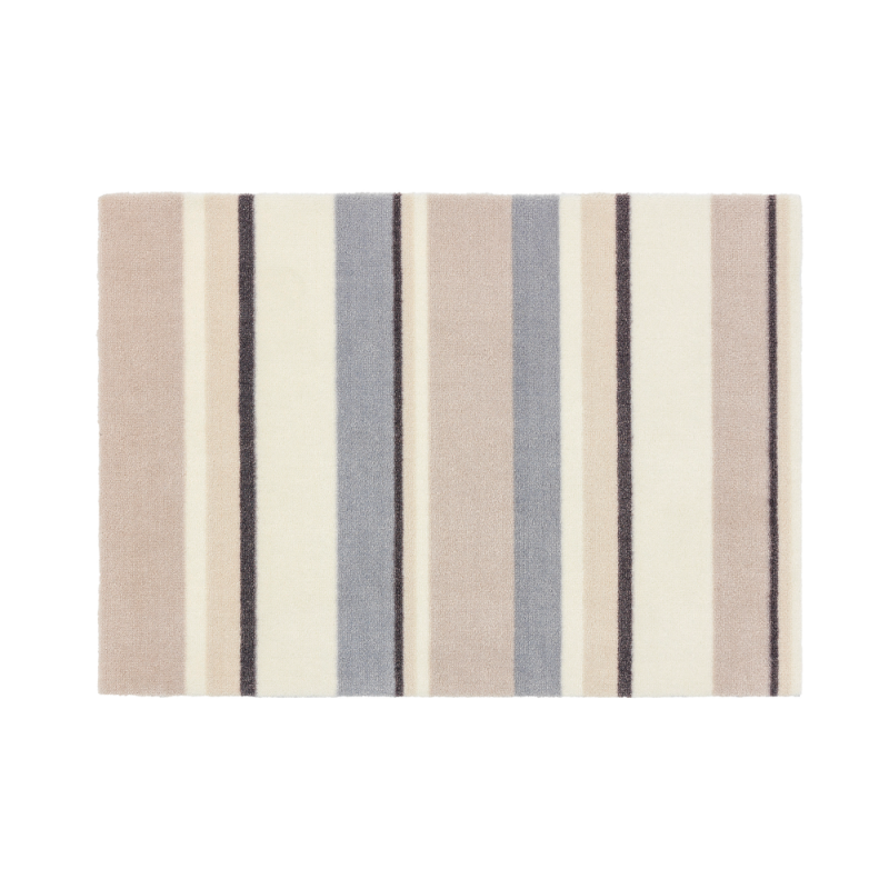 Tapis de bain beige boston for Tapis raye noir beige