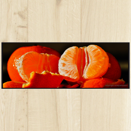 Tapis cuisine orange - Tapis de cuisine design ...
