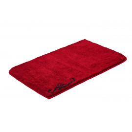 Tapis de bain Onyx rouge