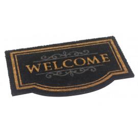 Paillasson-coco-Welcome-écru