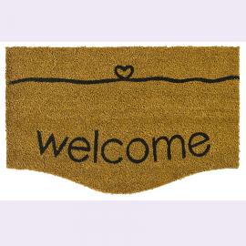 Paillasson Coco Welcome Heart