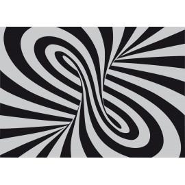 tapis d'entrée spirale