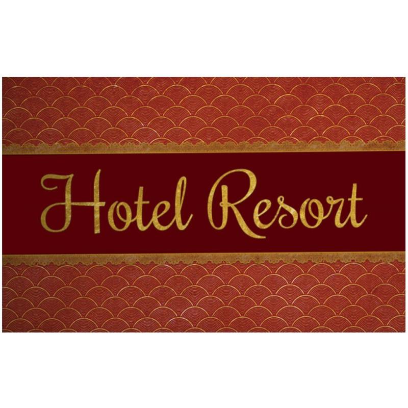 paillasson hôtel ressort