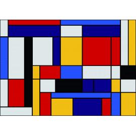 Paillasson Mondrian