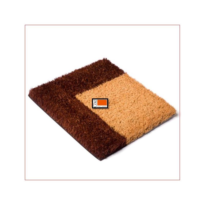 tapis brosse coco bord couleur 23mm dimension sur mesure tapis coco sur mesure c t paillasson. Black Bedroom Furniture Sets. Home Design Ideas
