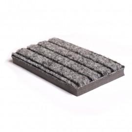 tapis d'entrée haut de gamme gris