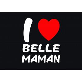Paillasson J'aime ma Belle...