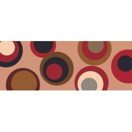 tapis de cuisine visuel des années 50, tapis fifty's