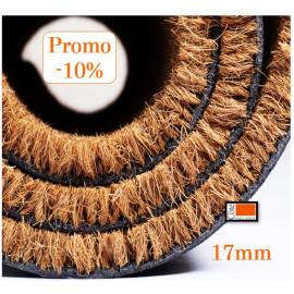 tapis coco à la découpe sur mesure, épaisseur 17 mm.