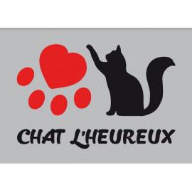 Paillasson Chat L'Heureux