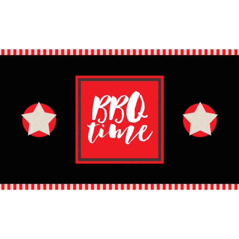 tapis de Barbecue, coloré, design et anti feu