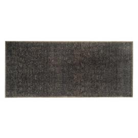 tapis d'entrée couleur taupe, avec des reflets