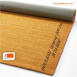 rouleau de fibres coco, grande largeur, epaisseur H24