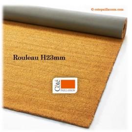 rouleau de fibres coco, grande largeur, épaisseur H23