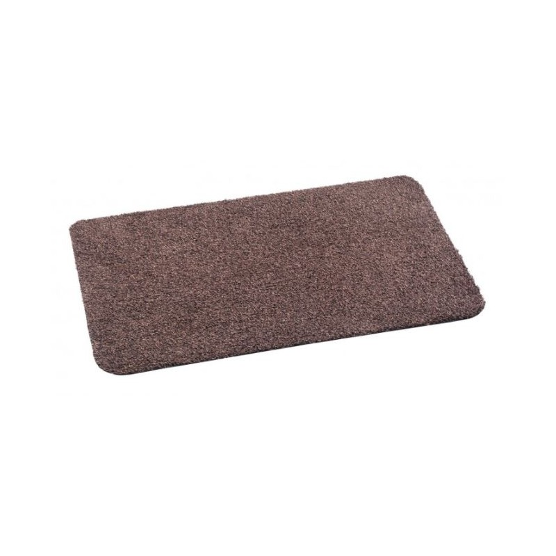 paillasson coton absorbant premium de couleur marron