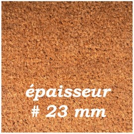 PAILLASSON COCO QUALITE SUPERIEURE 23 mm
