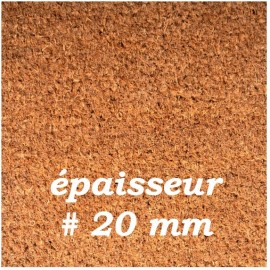 PAILLASSON COCO QUALITE SUPERIEURE 20 mm