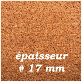 PAILLASSON COCO QUALITE SUPERIEURE 17 mm