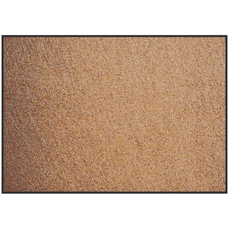 tapis d'entrée, façon sable.
