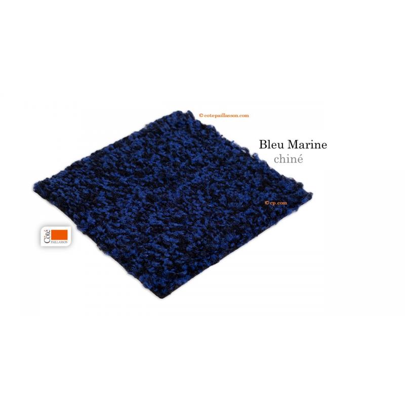 tapis d'entrée, couleur bleu, tapis intérieur