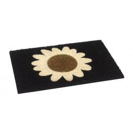 tapis coco fleur