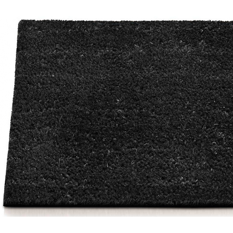 Paillasson coco anthracite for Tapis paillasson exterieur