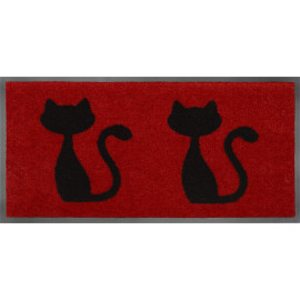 Paillasson original 2 Chats red