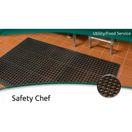 Tapis d'évier antidérapant Safety chef