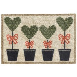 Paillasson coton design Love