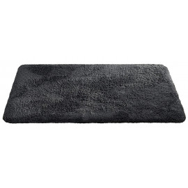 Tapis de bain anthracite for Tapis salle de bain design