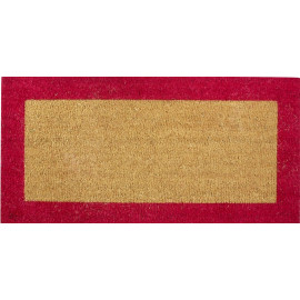 Tapis coco Bordé Rouge 40 x...