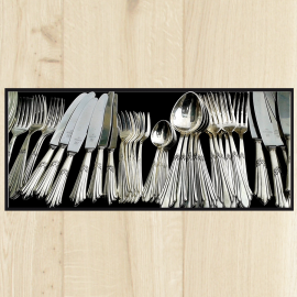 Tapis de cuisine couverts