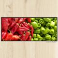 Tapis de cuisine piment