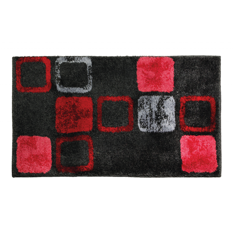 wundersch nen tapis de bain rouge l 39 id e d 39 un tapis de bain. Black Bedroom Furniture Sets. Home Design Ideas