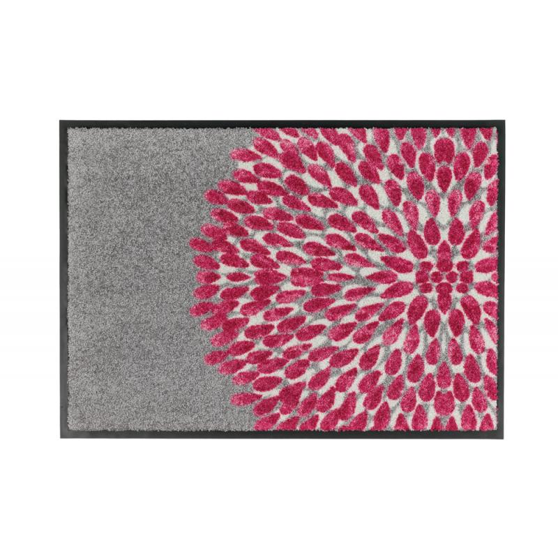 Tapis de bain rouge toledo for Moquette rouge texture