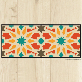 Tapis-carreaux-Arabesques