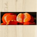 Tapis cuisine orange