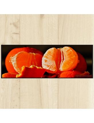 Tapis cuisine fruits orange
