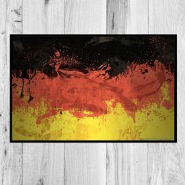paillasson Drapeau Allemagne