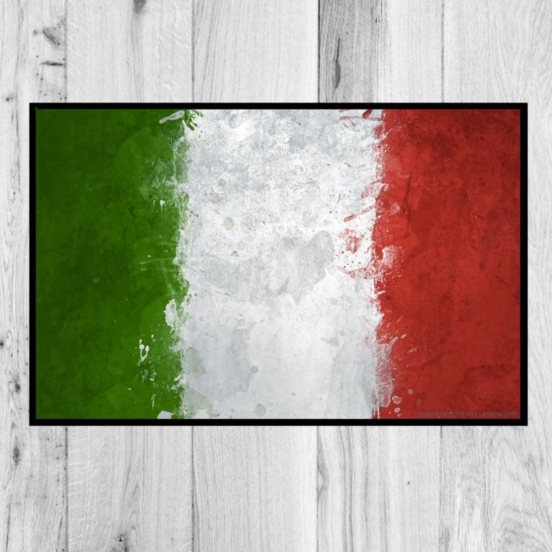paillasson drapeau Italie