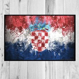 paillasson-drapeau-Croatie