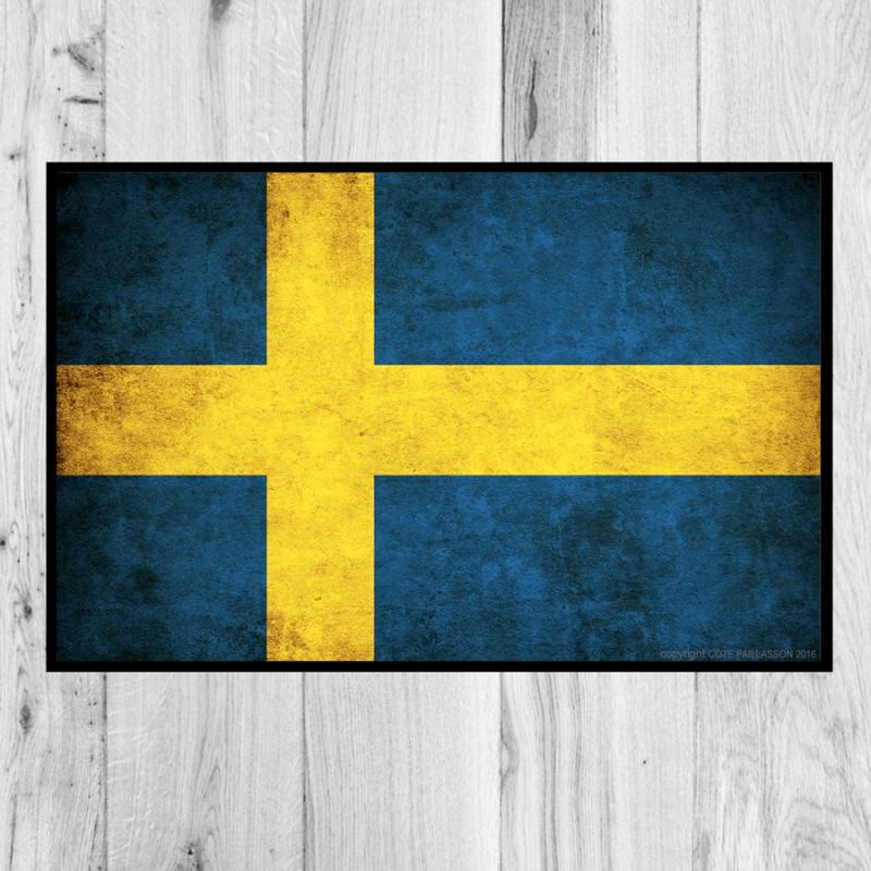 paillasson-drapeau-Suède