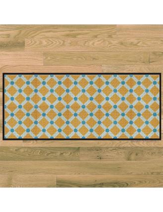 Tapis de cuisine carreaux ciment mosaicos