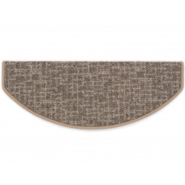 tapis escalier  Anvers Marron