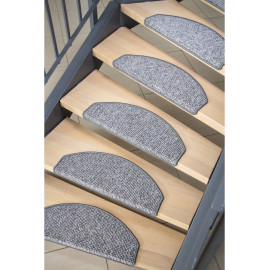 tapis escalier Bruxelles Gris