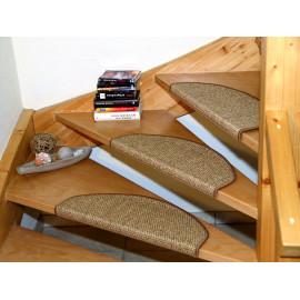 Tapis escalier Beverly Ecru