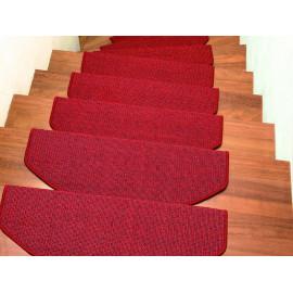 Tapis escalier Chelsea Rouge