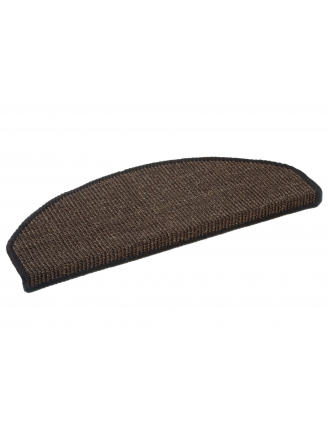Tapis escalier Chelsea Marron (lot de 15)